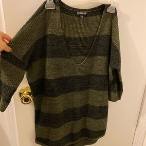 Used woman express sweater